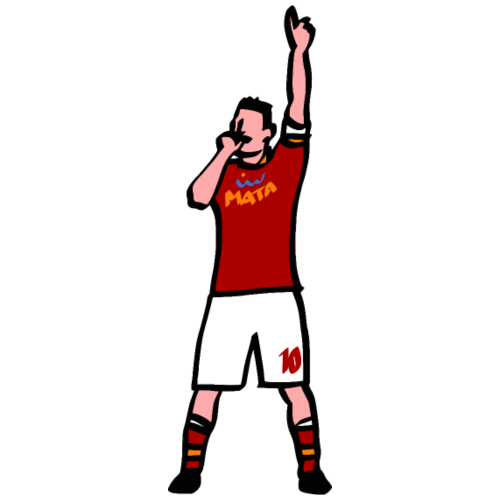 Er Pupone, 10 | Mata Club Football Culture - Maglietta Premium da uomo
