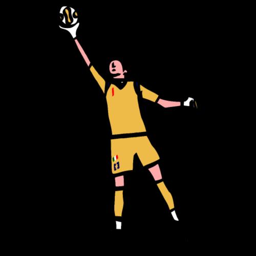 Super Gigi, 1 | Mata Club Football Culture - Maglietta Premium da uomo