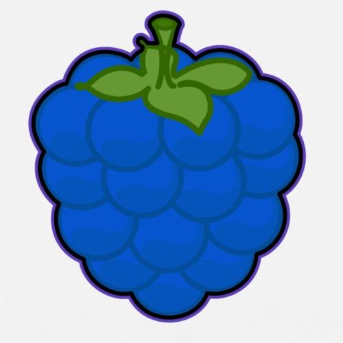 Blue Rasberry Logo Brand - T-shirt Premium Homme