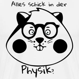 IQ Hamster - Physik - Männer Premium T-Shirt