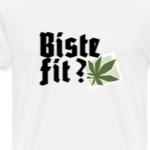 Biste fit?: Version 2 - Männer Premium T-Shirt