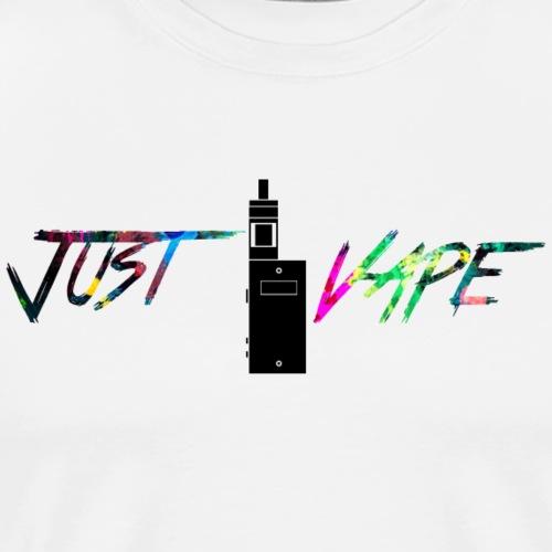 rainbow Just vape - Premium T-skjorte for menn