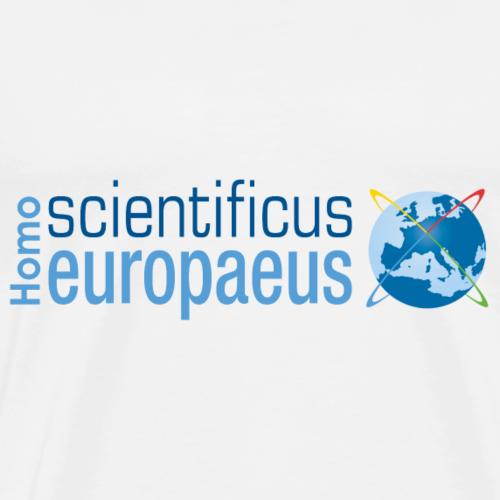 HomoScientificusEur logo - Men's Premium T-Shirt