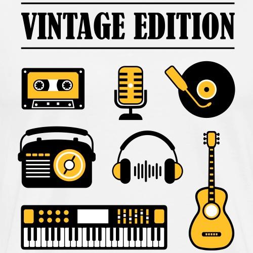 Vintage Edition Music - Men's Premium T-Shirt