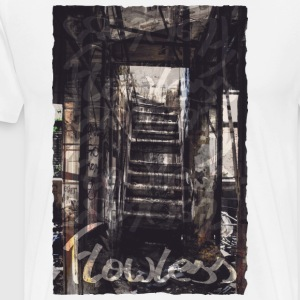 Stairway To Nowhere - Premium T-skjorte for menn