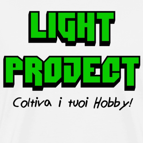 Light Project - Maglietta Premium da uomo