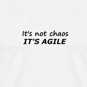 Chaos is Agile - Mannen Premium T-shirt