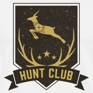 HUNT CLUB - Premium T-skjorte for menn