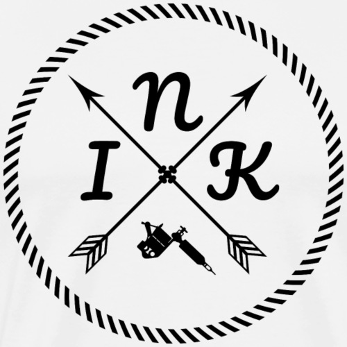 Ink cercle - T-shirt Premium Homme