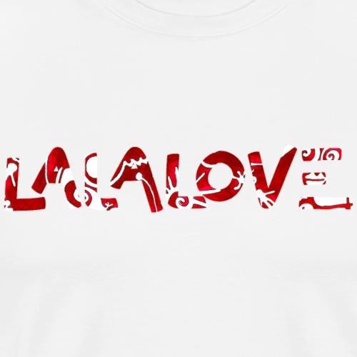 LALALOVE - Männer Premium T-Shirt