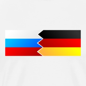 Germany and Russia - Men's Premium T-Shirt
