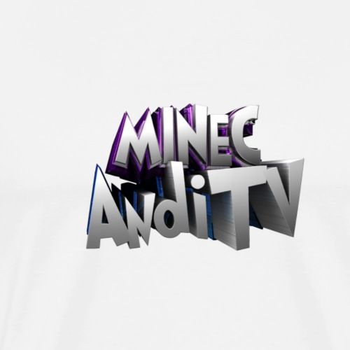 MinecAndiTV - Männer Premium T-Shirt