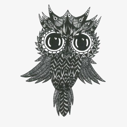Dark Owl - Männer Premium T-Shirt