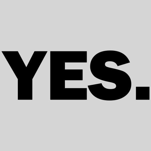 yes - Männer Premium T-Shirt