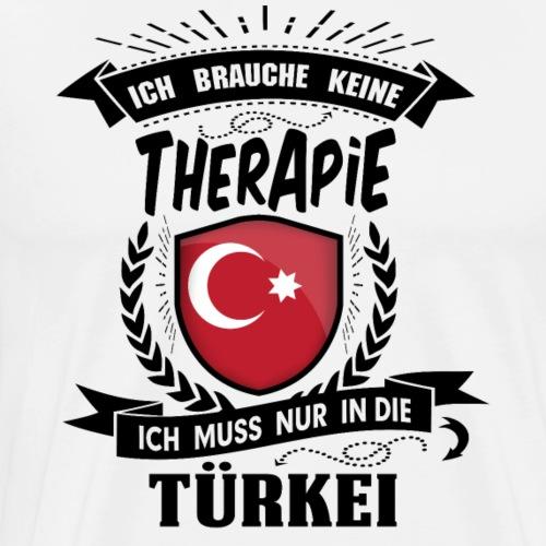 Therapie Türkei BLK - Männer Premium T-Shirt
