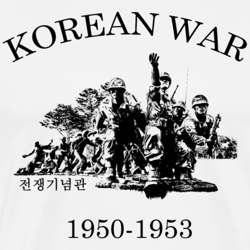 Korea Krieg 1950-1953 - Männer Premium T-Shirt