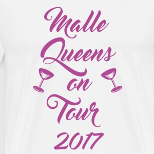 Malle Queens on Tour 2017 - Männer Premium T-Shirt