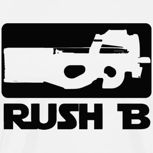 CS GO shirt. Rush B - Männer Premium T-Shirt