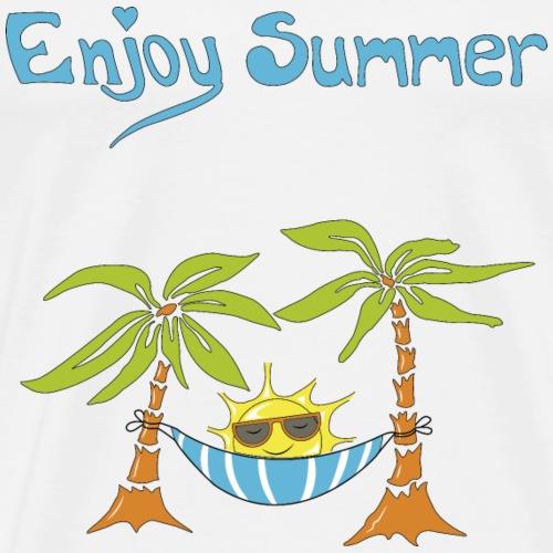 Vacances estivales Enjoy summer - T-shirt Premium Homme