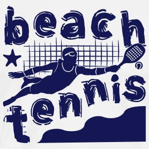 BEACH TENNIS BOYS - Men's Premium T-Shirt