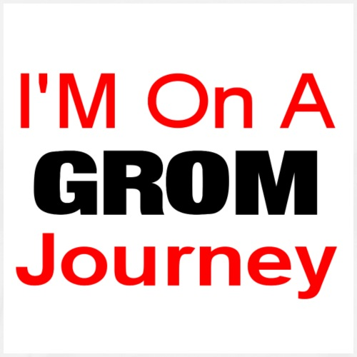 i am on a grom journey - Men's Premium T-Shirt
