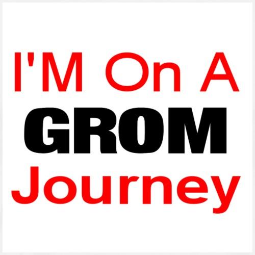i am on a grom journey - Men's Premium T-Shirt