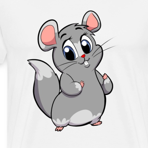 Steppi CHINCHILLA - Männer Premium T-Shirt