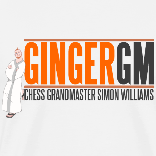Ginger GM Logo - Men's Premium T-Shirt
