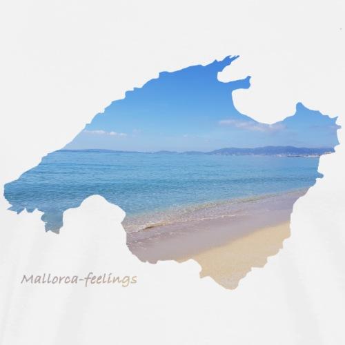 Mallorca-feelings beach 2 - Männer Premium T-Shirt
