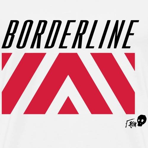 BORDERLINE - Men's Premium T-Shirt