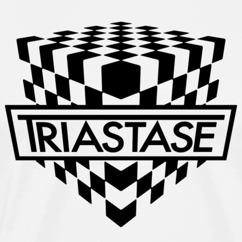 Triastase Logo Black - Men's Premium T-Shirt