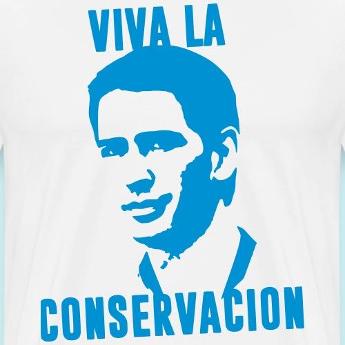 Sebastian Kurz - Viva La Conservacion (auf hell) - Männer Premium T-Shirt