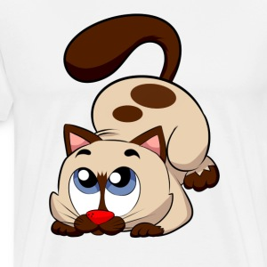 Steppi KATZE - Männer Premium T-Shirt