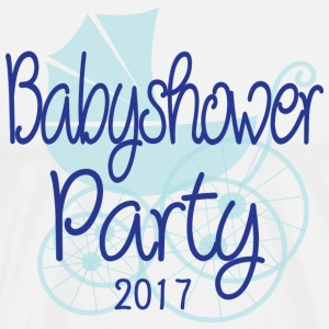 Baby Shower Party 2017 - T-shirt Premium Homme