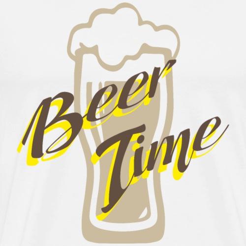 Beer time - Men's Premium T-Shirt