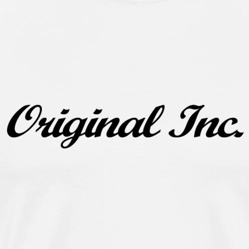 Texte Logo Noir - T-shirt Premium Homme