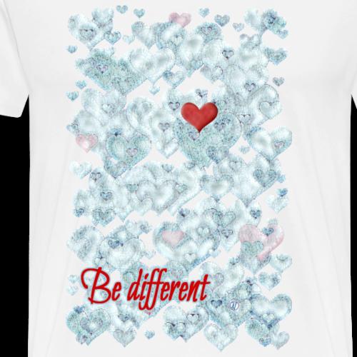 Be different - Men's Premium T-Shirt