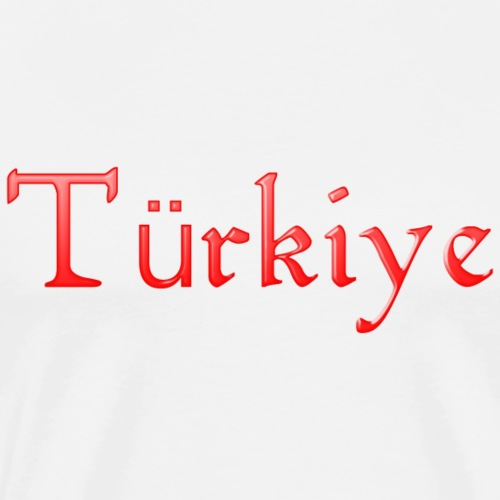 Türkiye - Männer Premium T-Shirt
