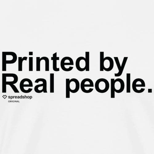 Printed in black - Men's Premium T-Shirt