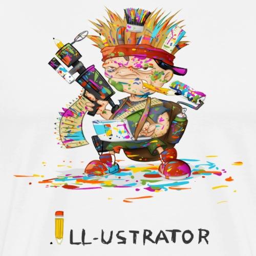 Illustrator - Männer Premium T-Shirt