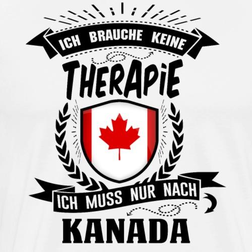 Therapie Kanada BLK - Männer Premium T-Shirt