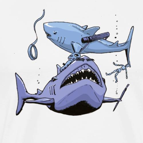 Sharks - Mannen Premium T-shirt