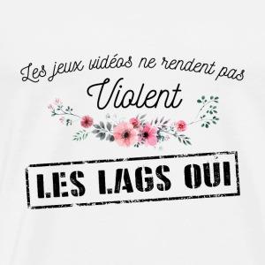 Les JV ne rendent pas violent - T-shirt Premium Homme