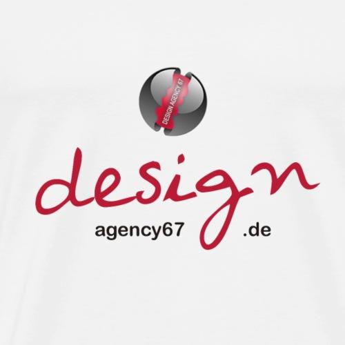 Design Agency 67 - Logo - Männer Premium T-Shirt