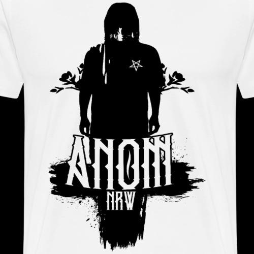 AntiChrist Anom NRW | Logo von Tumor Grafix | - Männer Premium T-Shirt