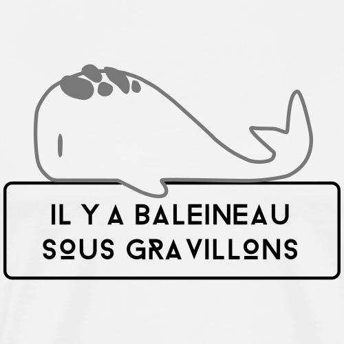 Baleineau - T-shirt Premium Homme