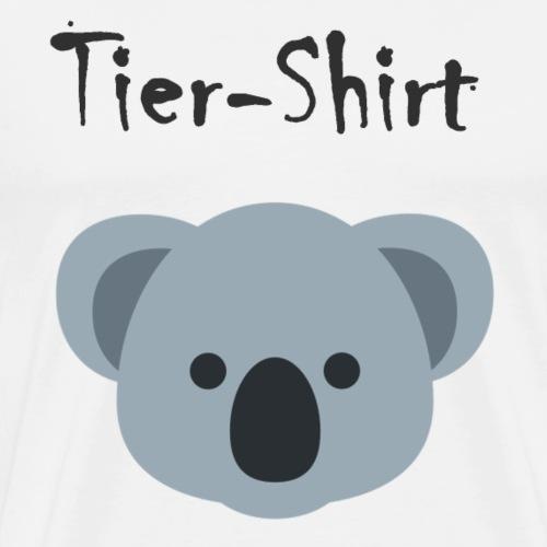 Koala Tier-Shirt - Männer Premium T-Shirt