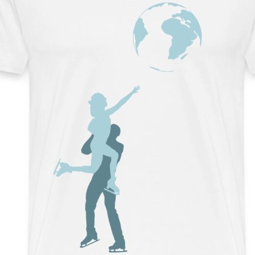 Eiskunstlaufwelt - Männer Premium T-Shirt