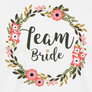Team Bride - Herre premium T-shirt