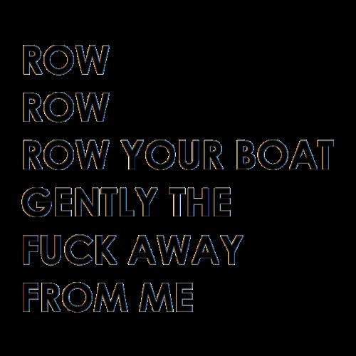 rowrowyouboat - Männer Premium T-Shirt